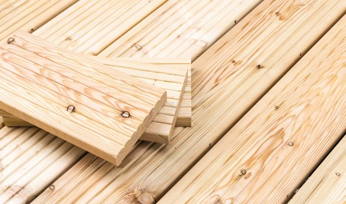 Prix d'une terrasse en bois hors pose