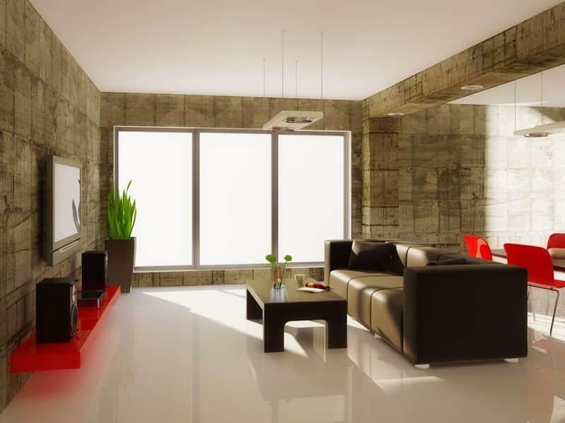 Appliquer du b ton cir sur carrelage au sol ou mural - Mur beton cire salon ...