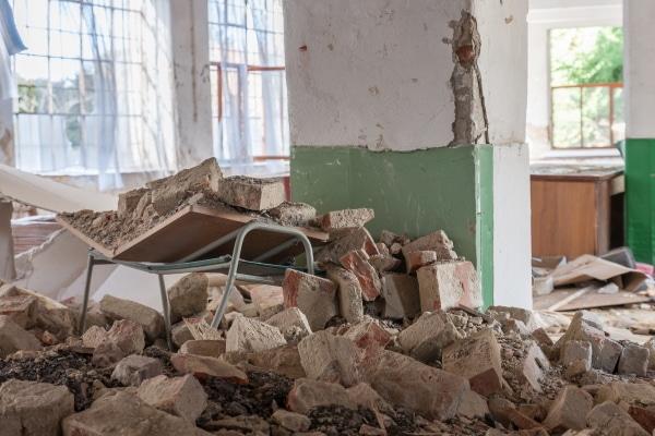 Coût de démolition d'un mur porteur