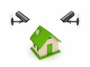 Maison sous vidéo surveillance