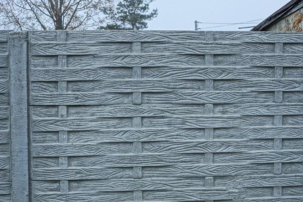 Coût d'une clôture en béton