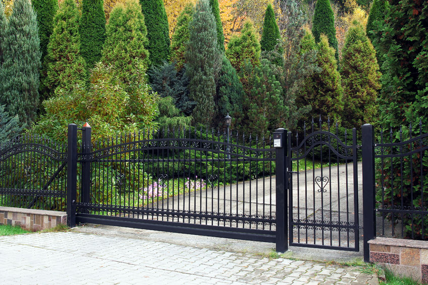 Gated Homes Entrance