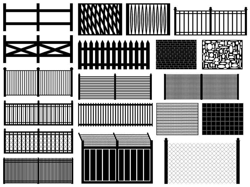 les types de cl ture caract ristiques avantages et inconv nients. Black Bedroom Furniture Sets. Home Design Ideas