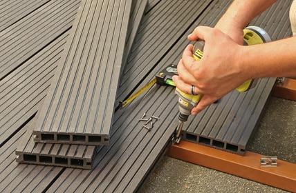 Prix d 39 une terrasse composite tout sur les tarifs et devis for Plancher bois composite exterieur