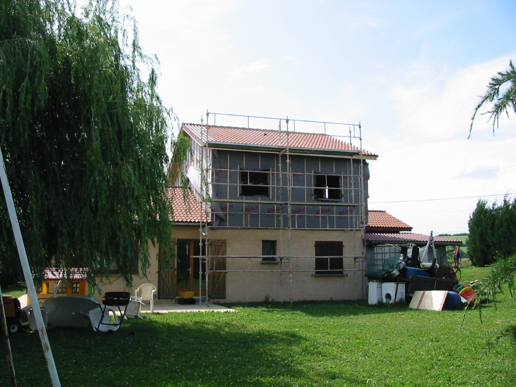 Le prix de sur l vation d 39 une maison ou toiture au m2 et devis - Prix d une toiture neuve au m2 ...