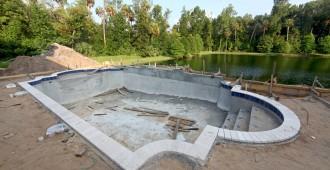 construction piscine béton