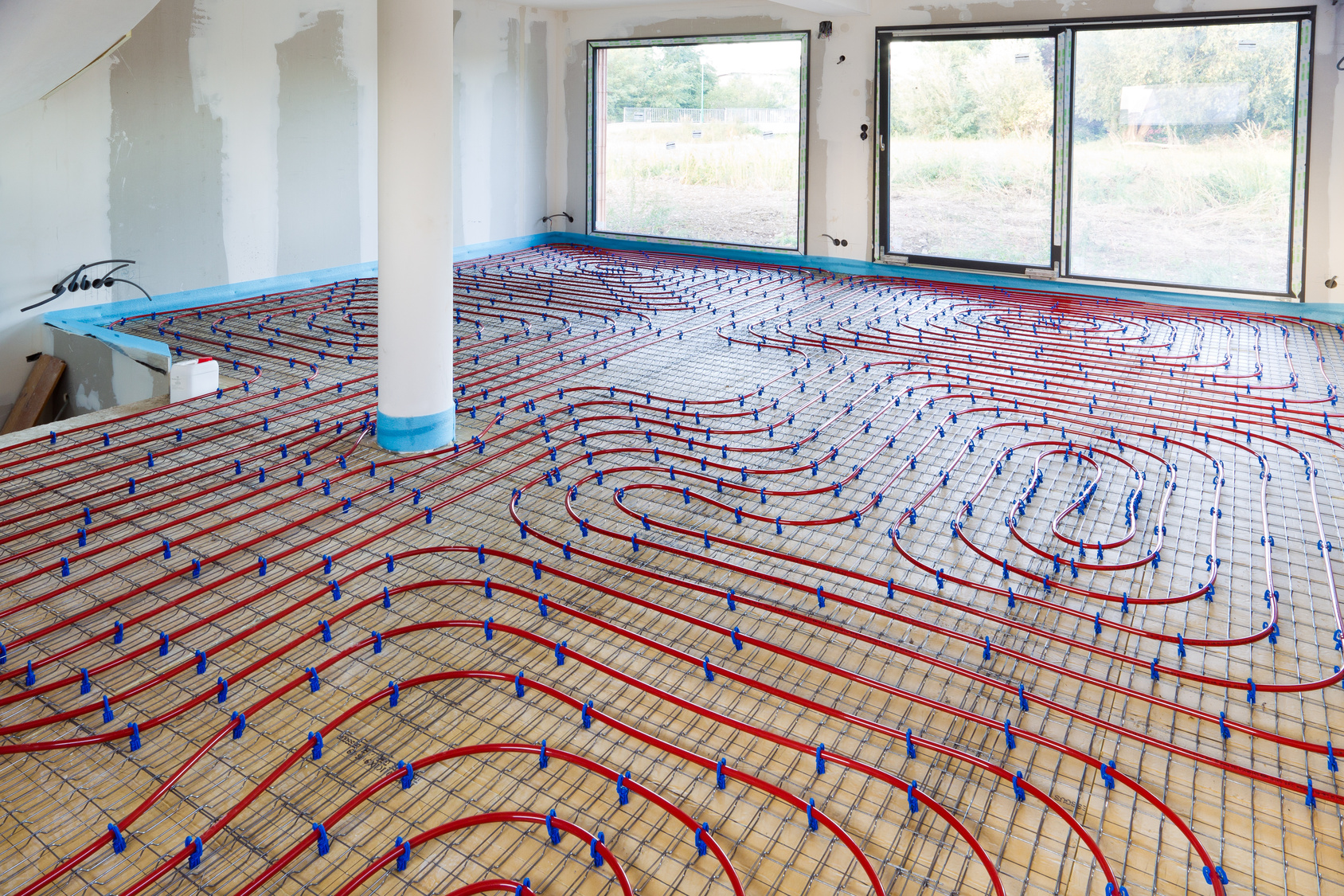 Radiant Floor Heating Installation