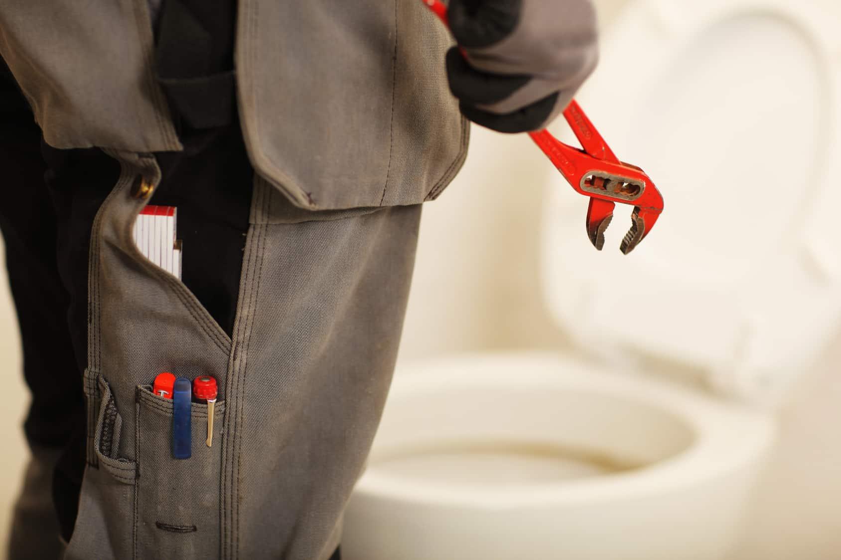 comment enlever abattant wc