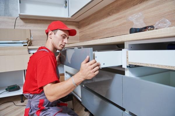 Le coût d'installation de meubles de cuisine
