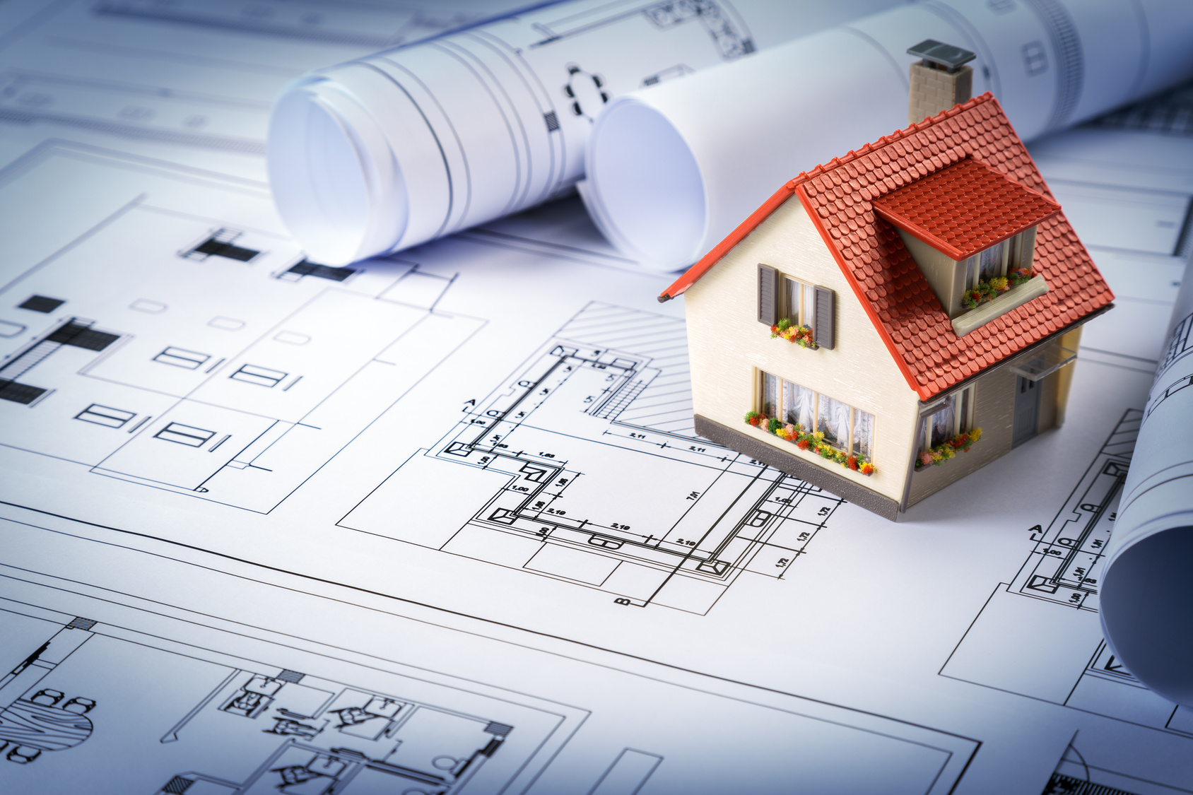 Le tarif pour faire r aliser les plans d 39 une maison les for Plan de maison en construction