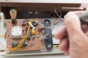 Réparation alarme