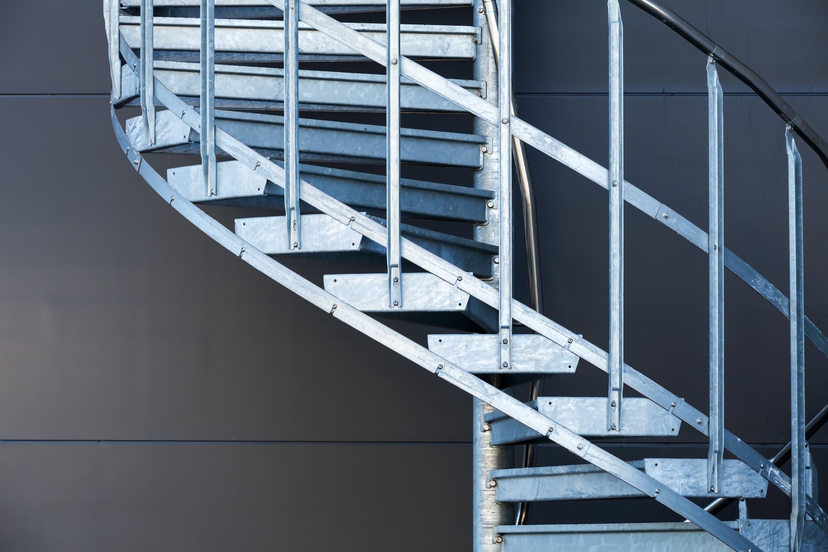 Le prix d 39 un escalier en acier ou autre m tal les tarifs for Prix escalier exterieur metal