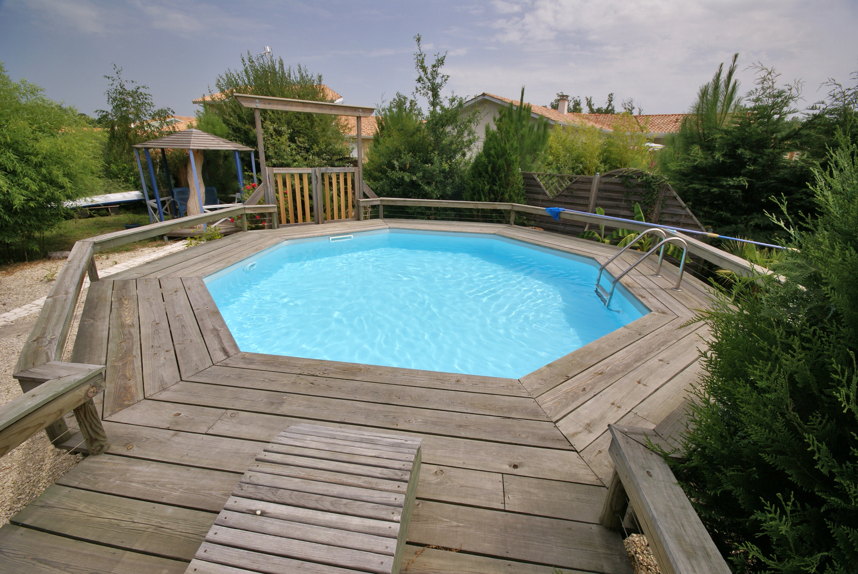 Piscines En Kit A Enterrer Of Kit Piscine Enterree Pas Cher
