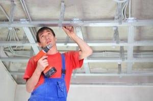 Réparation faux plafond