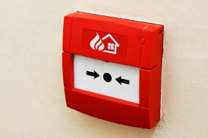 interrupteur alarme incendie