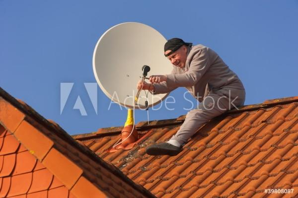 Le coût de pose d'une antenne de toit