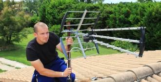 installation d'une antenne par un professionnel