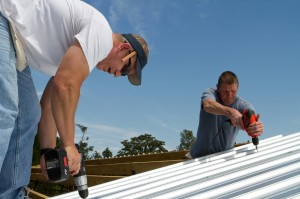 Construction toit tôle