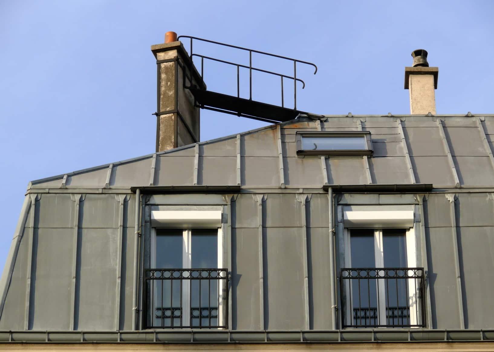 Prix d 39 une toiture en zinc au m2 les tarifs et devis - Cout isolation toiture ...