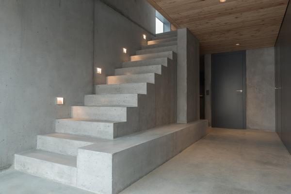 Le coût d'un escalier en béton