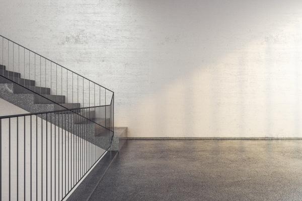 Le prix d'un escalier en béton