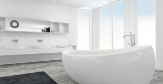 baignoire moderne contemporaine