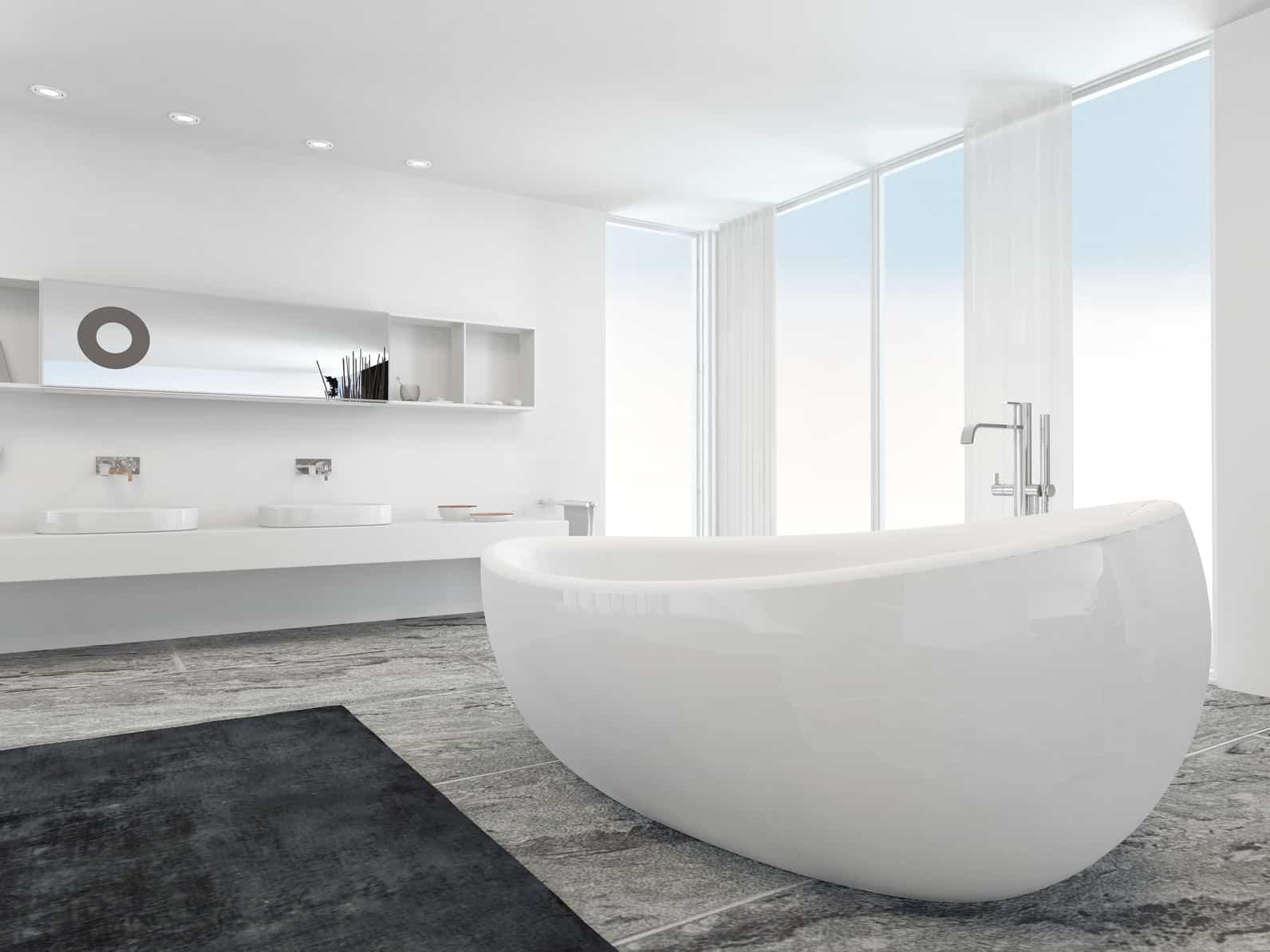 prix d 39 une baignoire et de sa pose les tarifs et devis. Black Bedroom Furniture Sets. Home Design Ideas