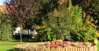 Bordure d'un jardin