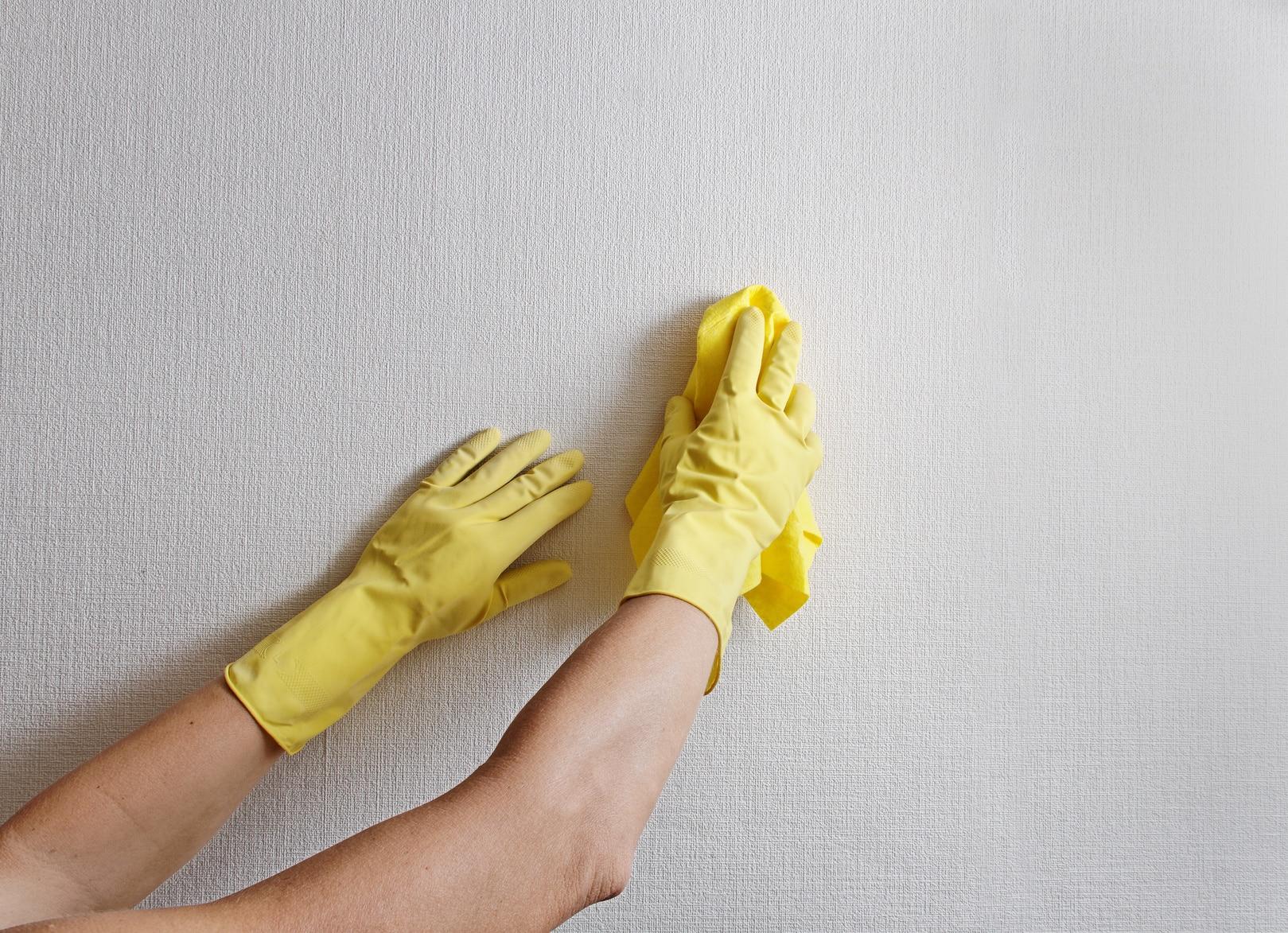 nettoyage papier peint