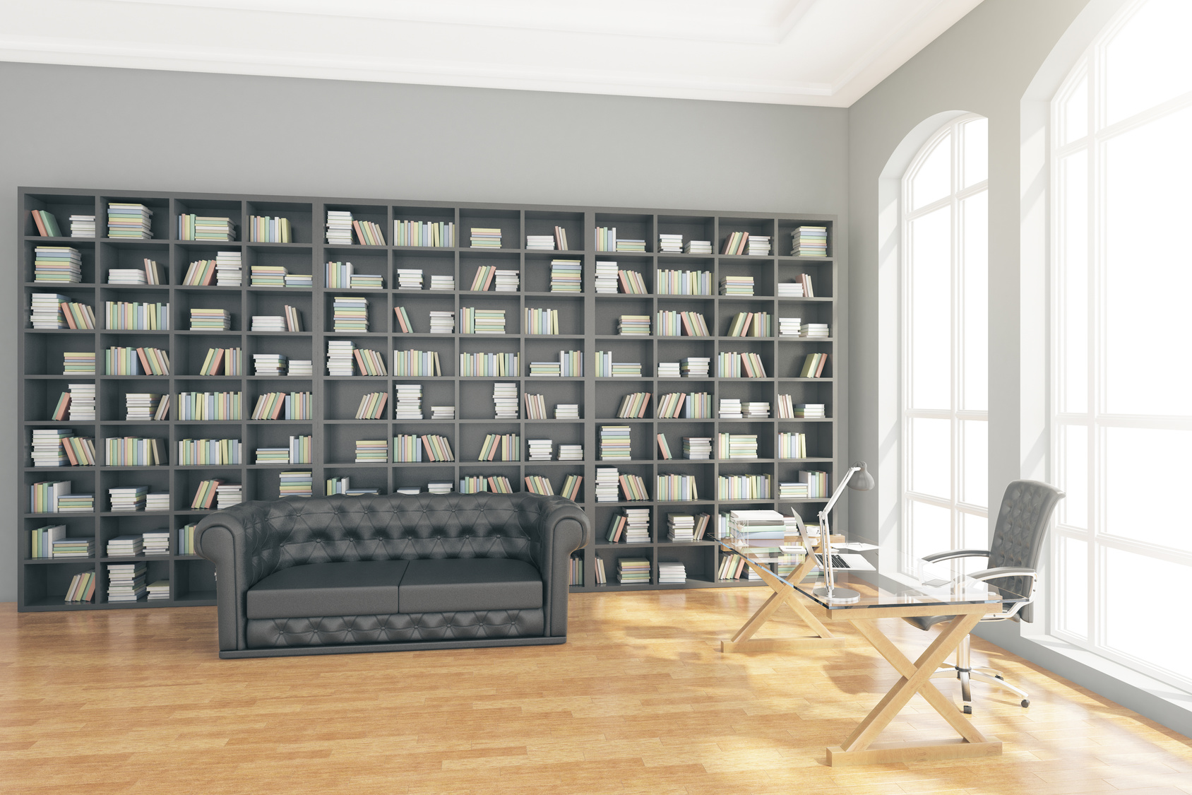 la m thode pour fabriquer une biblioth que sur mesure. Black Bedroom Furniture Sets. Home Design Ideas
