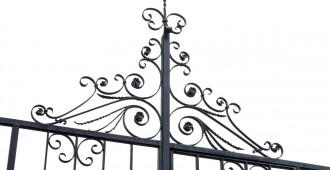 portail en fer ou en bois