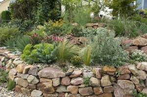 enrochement jardin
