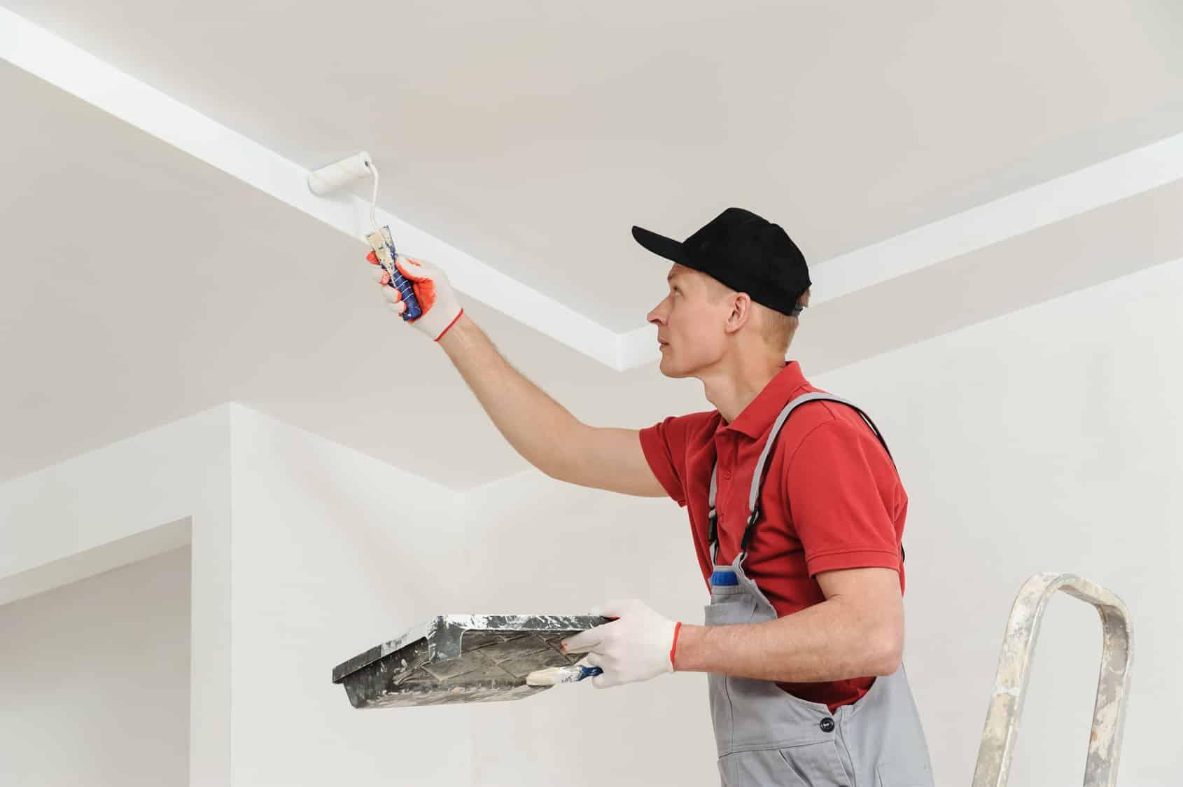 prix de peinture d'un plafond au m² - Combien De Temps Pour Peindre Un Plafond