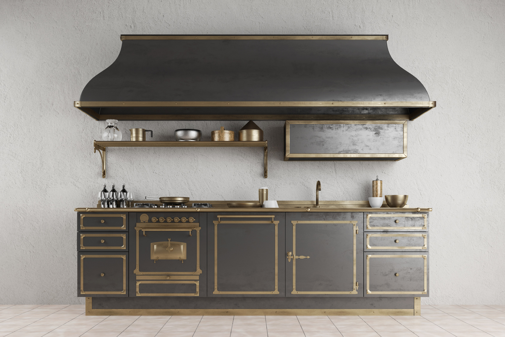 tous les conseils pour une cuisine vintage. Black Bedroom Furniture Sets. Home Design Ideas