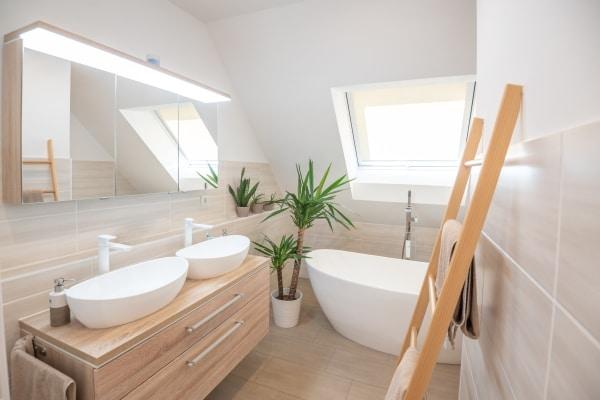 Coût d'aménagement d'une salle de bains