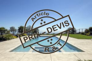prix pose piscine