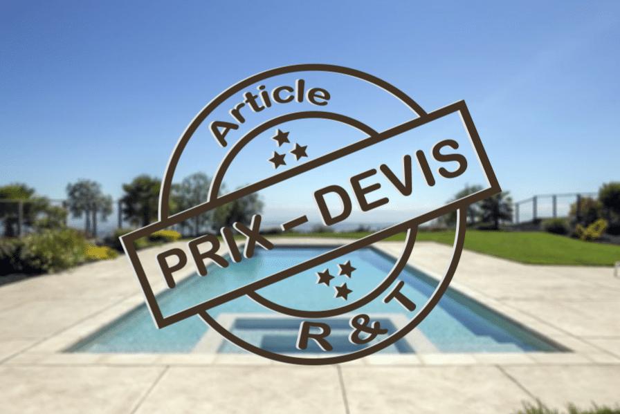 Prix de l installation d une piscine et exemple de devis for Prix installation piscine