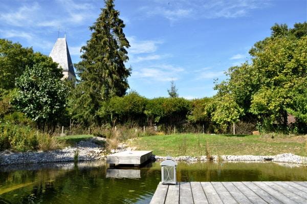 prix d'aménagement d'une piscine naturelle