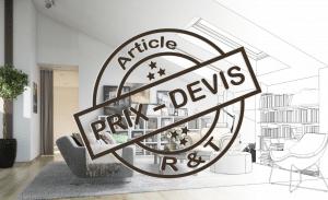 tarifs pour décorateur d'intérieur