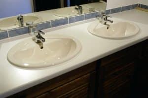 Prix d une double vasque de salle de bain et sa pose - Cout d une salle de bain ...