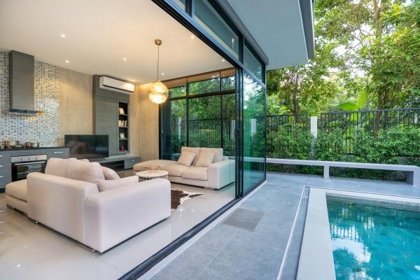Prix d'une maison contemporaine