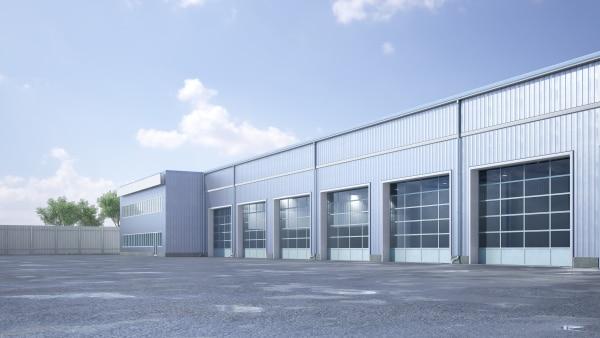 Le coût d'un hangar industriel