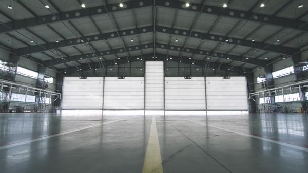 Le prix d'un hangar industriel