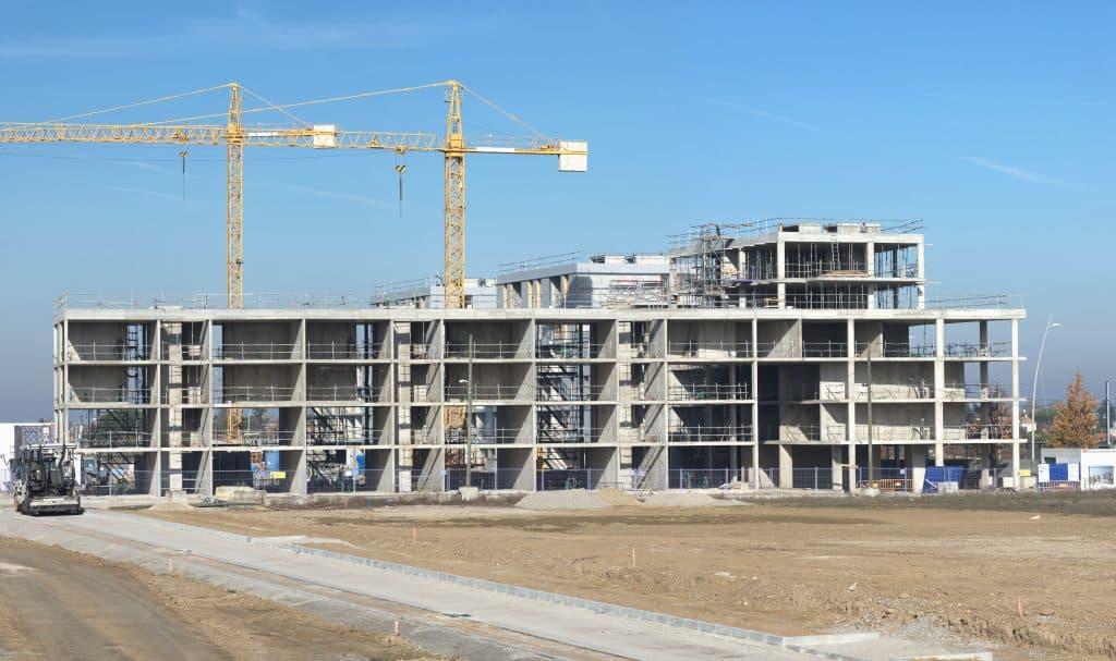 Co t de construction d 39 un immeuble for Cout de construction piscine