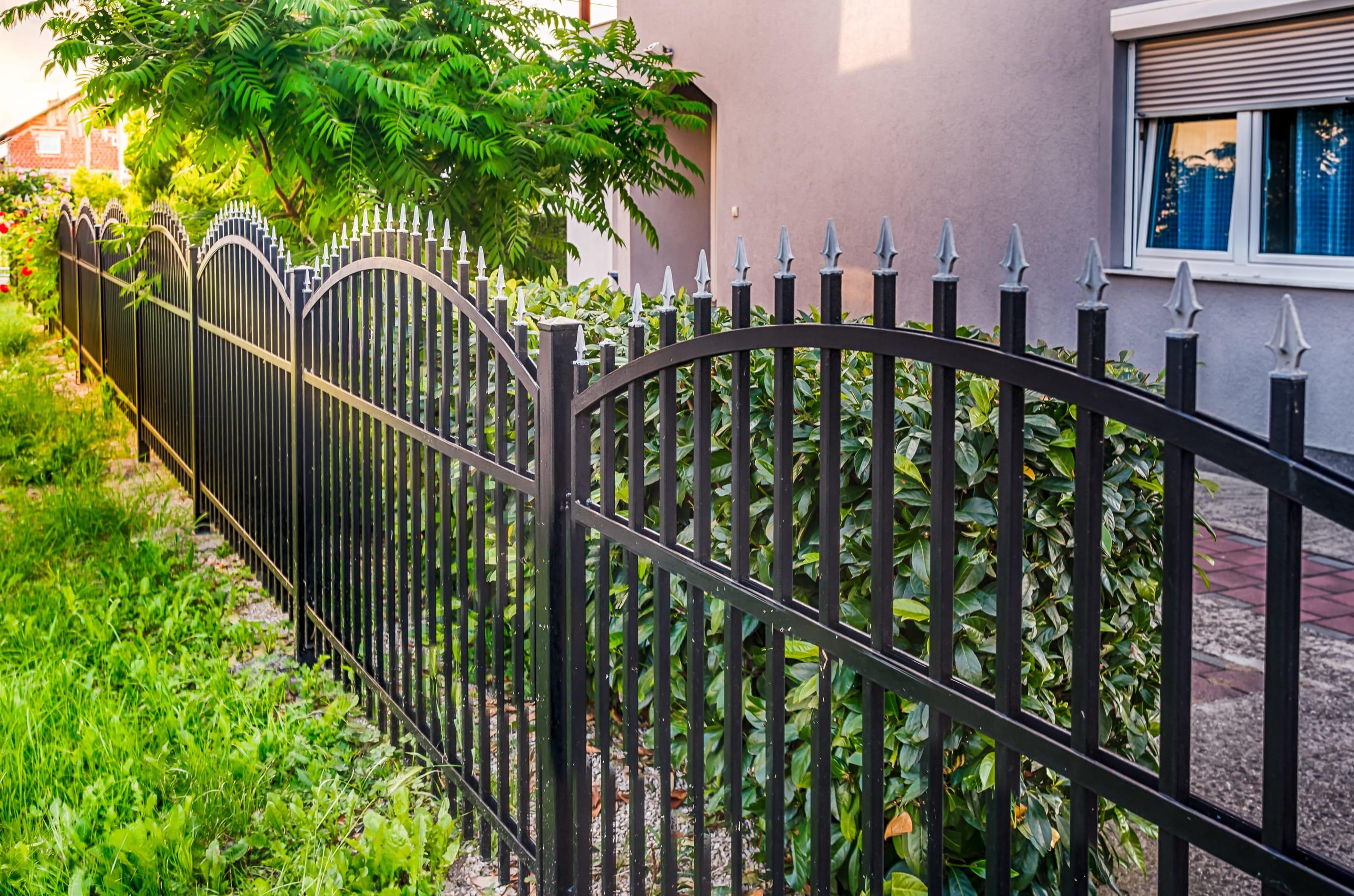 Faire Une Cloture Pas Chere prix de pose d'une clôture