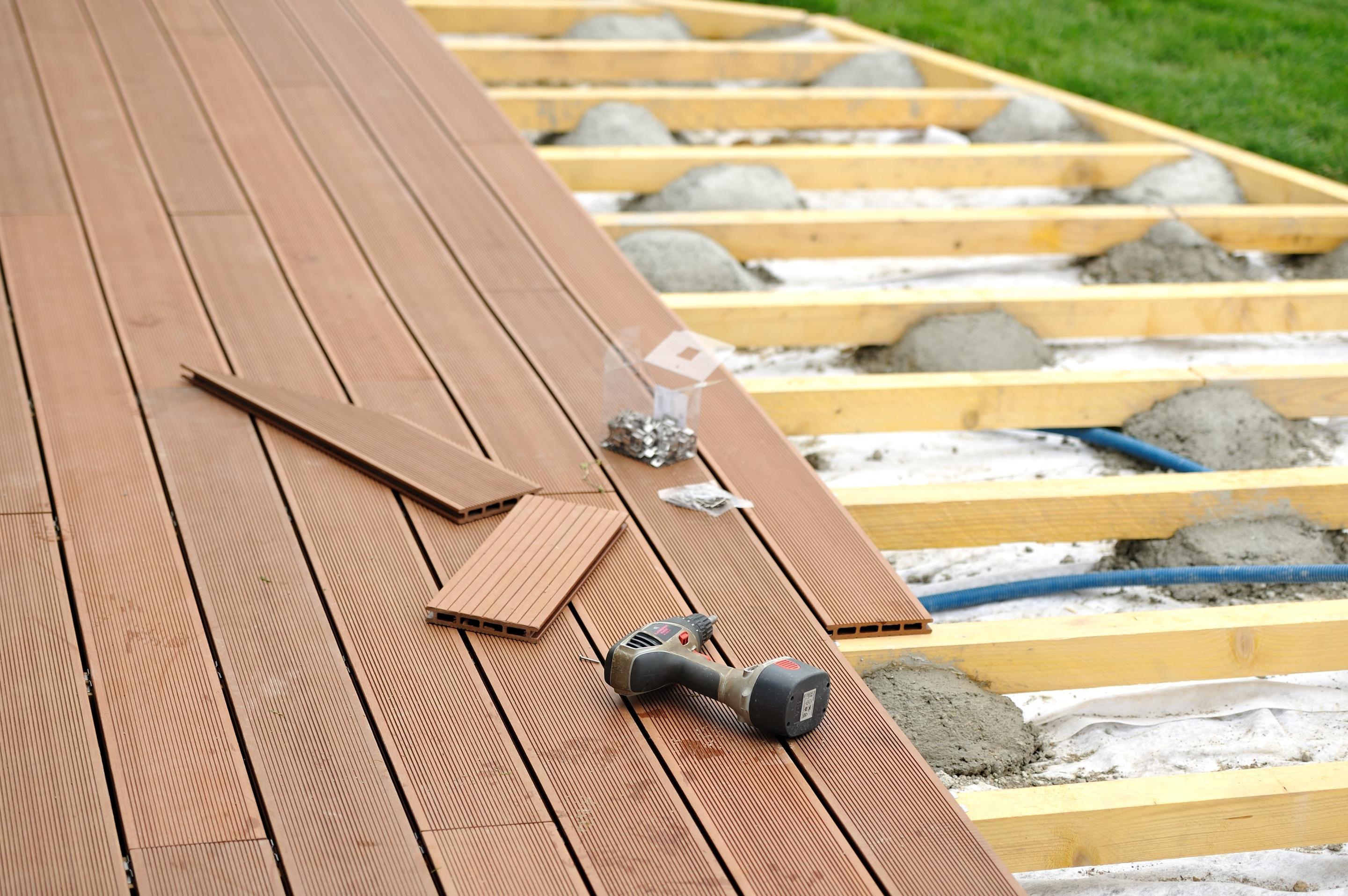 Bois Pour Terrasse Extérieure prix d'une terrasse en bois