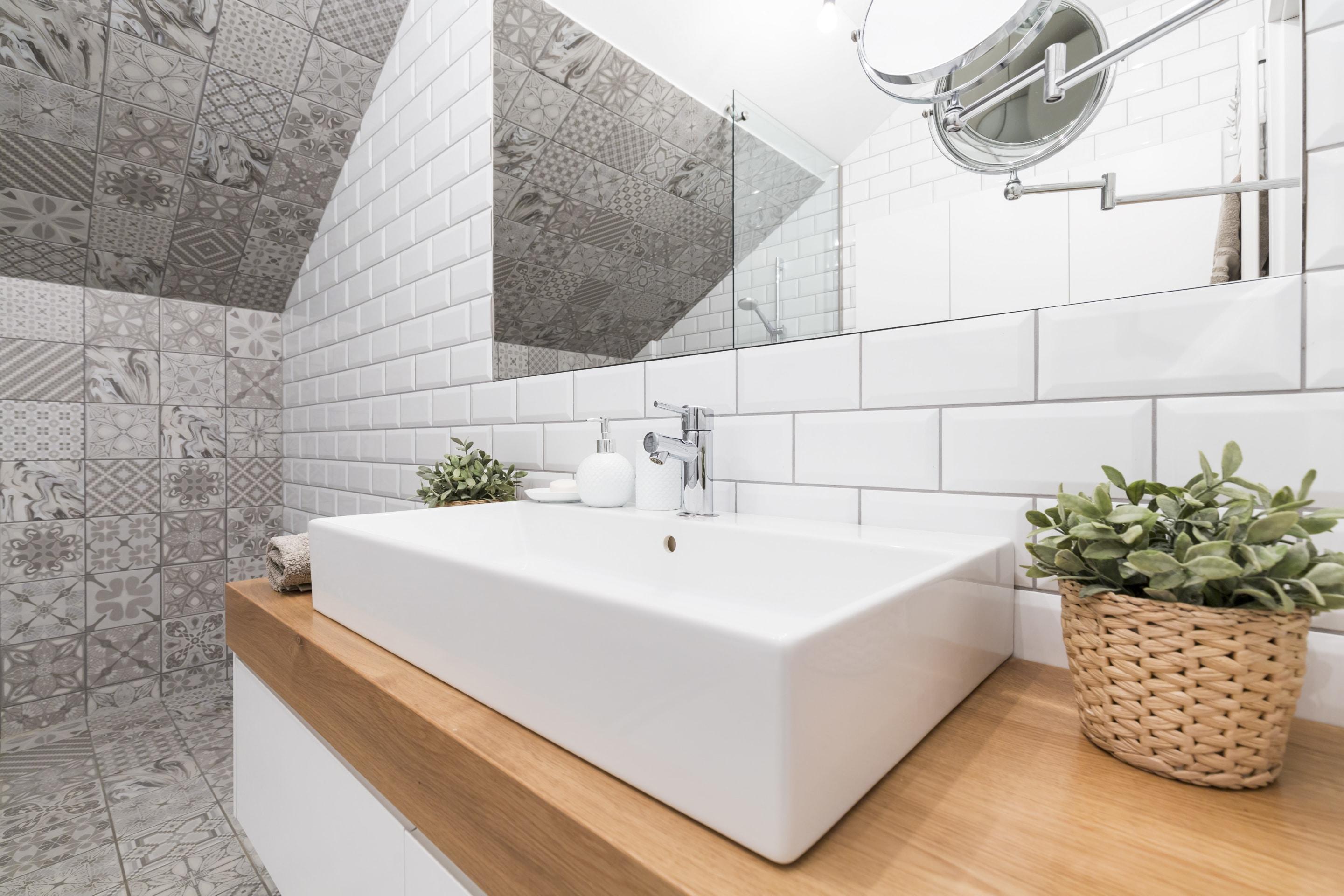 Faillance Salle De Bain prix de pose d'un carrelage mural pour salle de bain