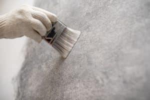 peinture effet béton