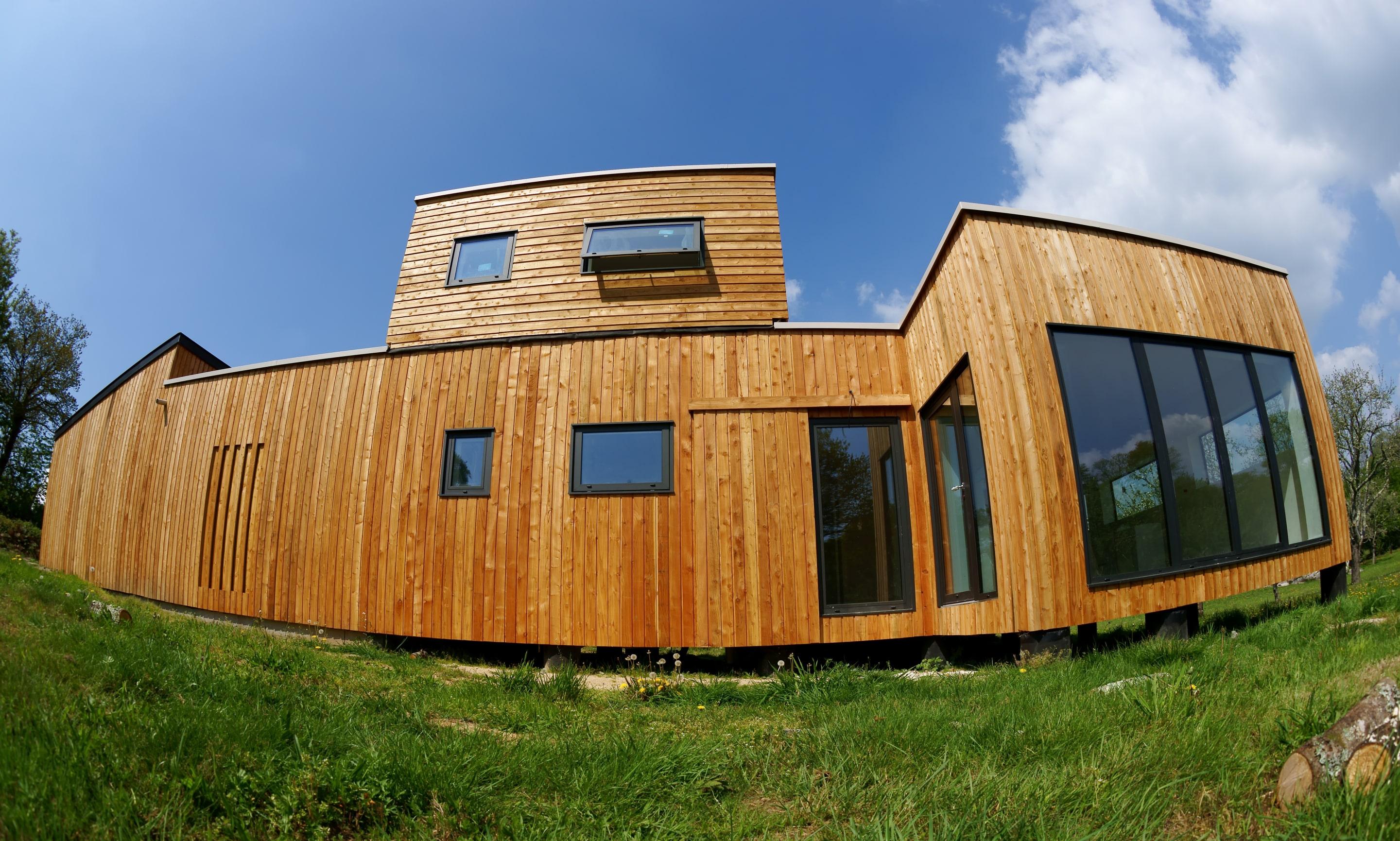 réalisation maison bioclimatique