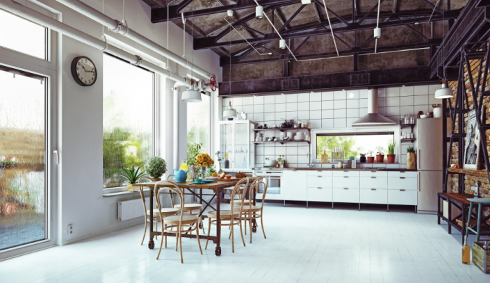 Aménagement d'une cuisine en appartement